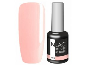 Gel lak NLAC One step 089 - světle lososově růžová