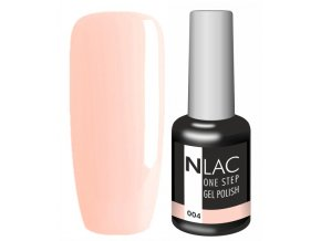 Gel lak NLAC One step 004 - světle broskvová