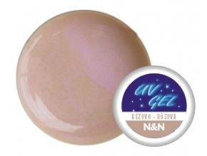 Barevný UV gel N&N 5ml - barva béžovo-růžová