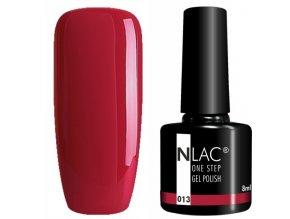 gel lak na nehty NLAC One step 013 - rubínová