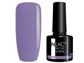 gel lak na nehty NLAC One step 047 - levandulová
