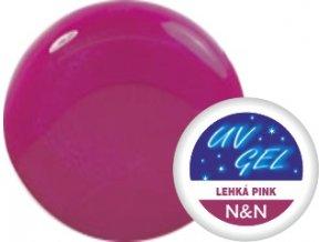 Barevný UV gel N&N 5ml - barva lehká pink