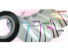 Nail art páska -  různé barvy