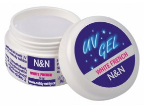 French white UV gel