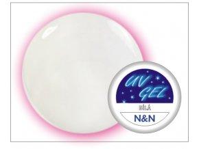 Barevný UV gel N&N 5ml - barva bílá