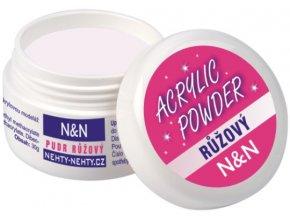 Acrylic powder - akrylový pudr růžový