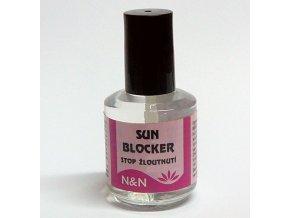 Sun blocker - Vrchní lak proti žloutnutí