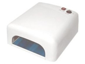 UV lampa na nehty bílá 36W
