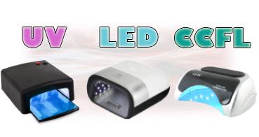 Jaký je rozdíl mezi UV lampou, LED lampou a CCFL lampou?