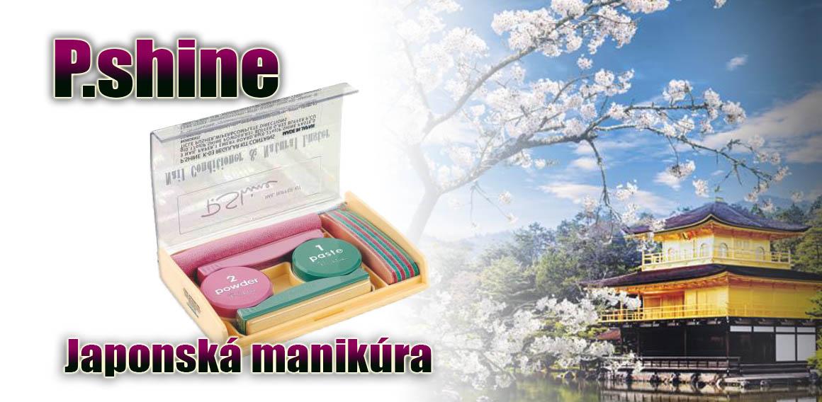 Japonská manikúra P.SHINE