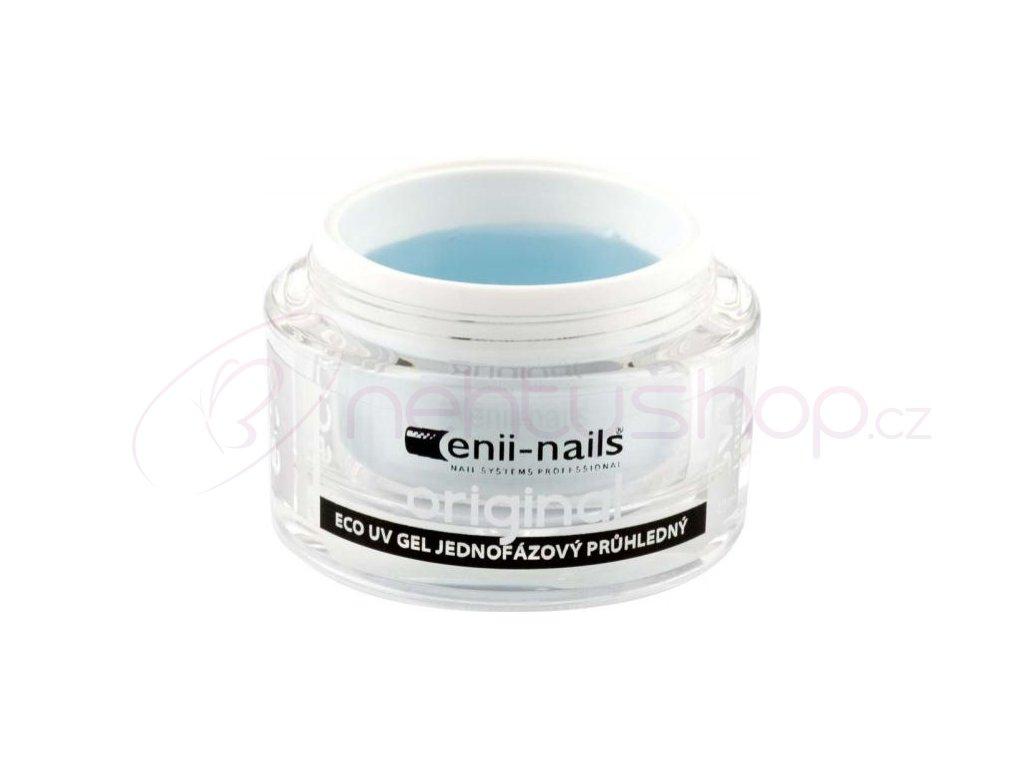 ECO UV gel jednofázový originál průhledný 10ml