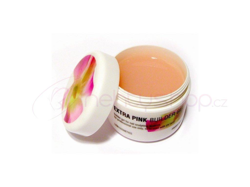 Lion Extra pink builder gel , 40ml