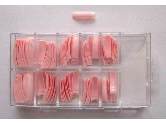 Tipy růžové 100 ks + box