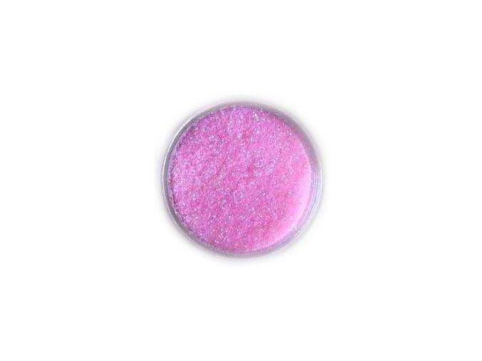 Třpytky na nehty, růžové 3g