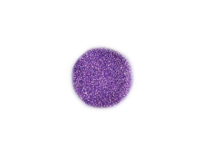 Třpytky na nehty, fialové 3g
