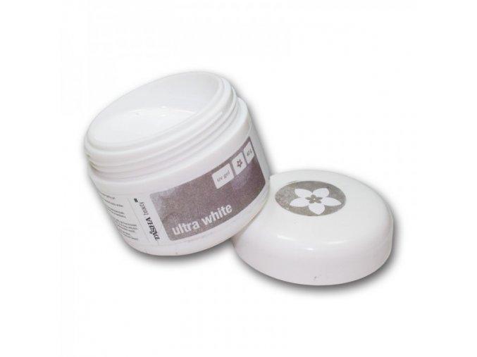 Tasha UV gel Ultra White 40g křídově bílý