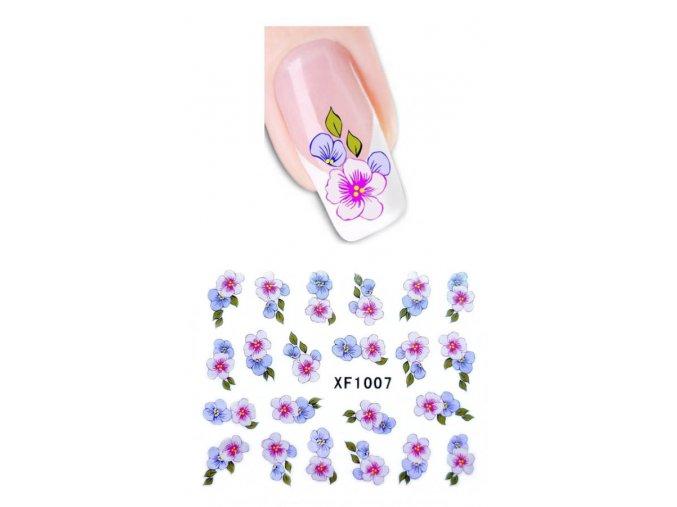 Vodolepky - růžovo-fialové květy