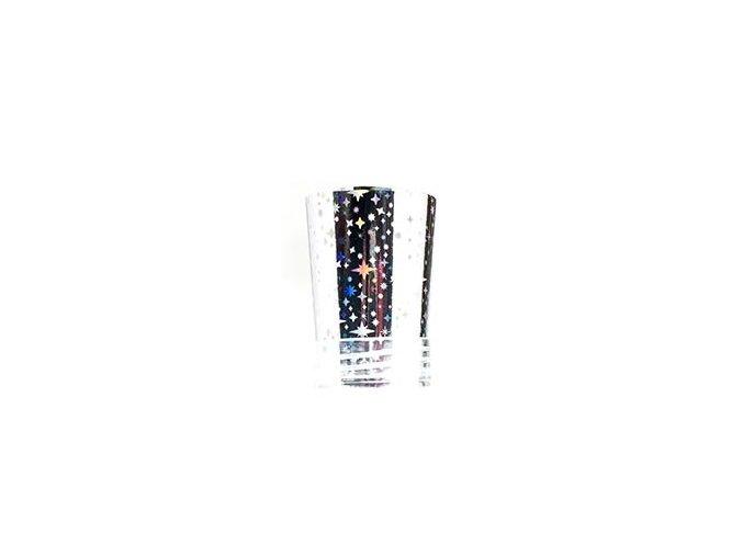 Transfer folie - stříbrná 8 - hvězdy