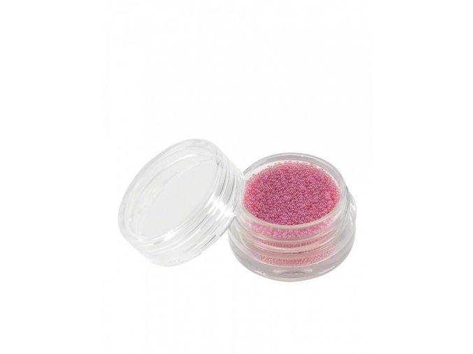 Perly na zdobení nehtů jemně růžové