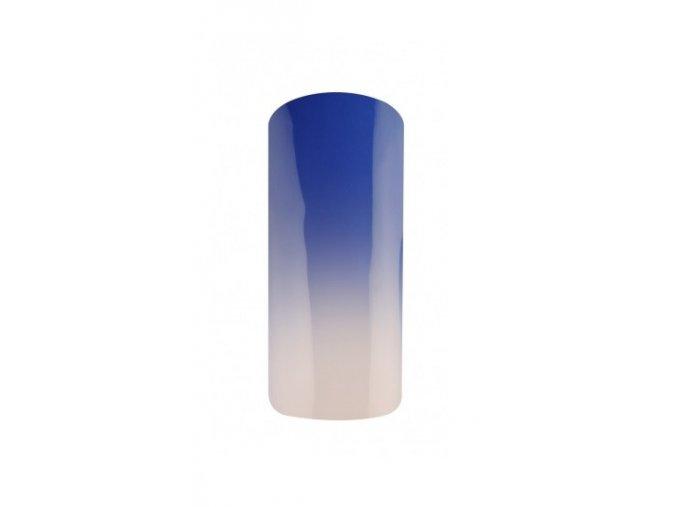 Thermo gel lak 15ml - modro-bílý