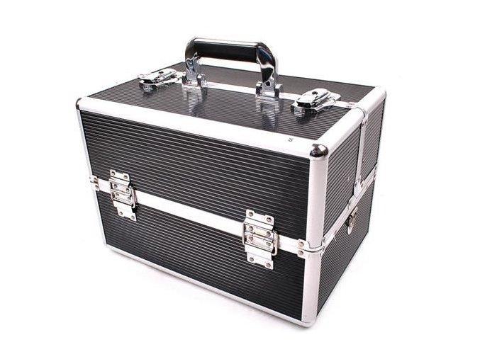 Kosmetický kufr - černý