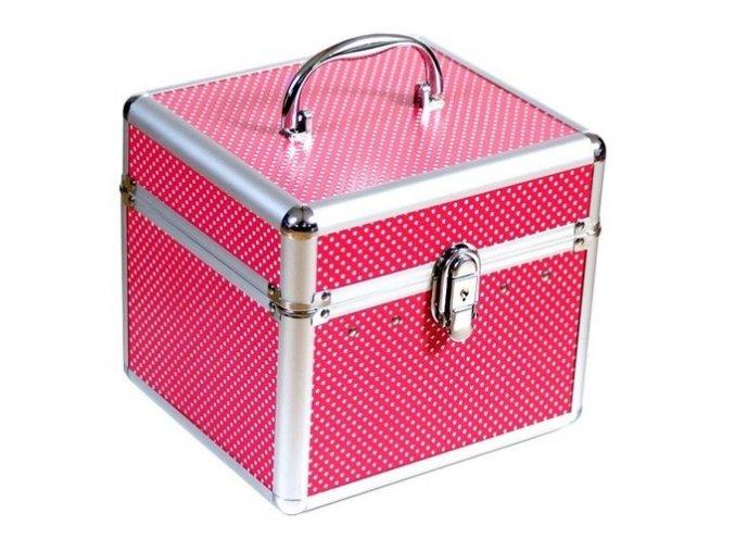 Kufřík - růžovo-červený