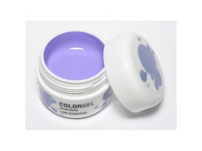 Lion UV gel barevný, levandule 12ml