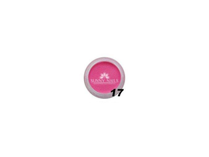 Barevný akryl, růžový