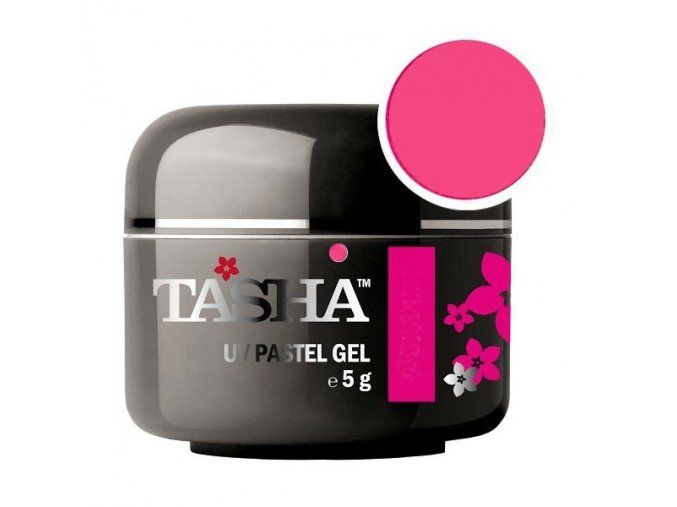 Barevný gel Neon Smart Pink 5g Black Line