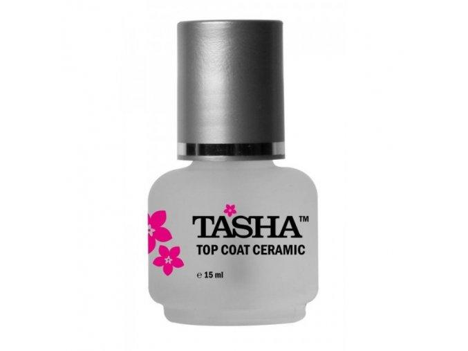 Tasha Top Coat Ceramic 15ml - vrchní lak