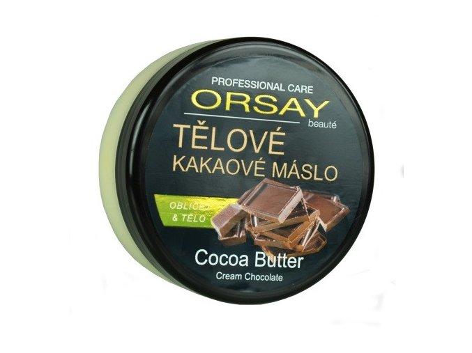Tělové kakaové máslo s vůní čokolády
