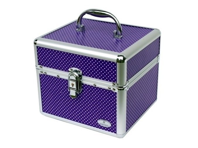 Kufřík - fialový