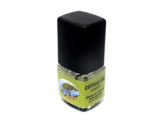 Olej na nehty se sušenými květy - BOROVICE (1+1 zdarma)