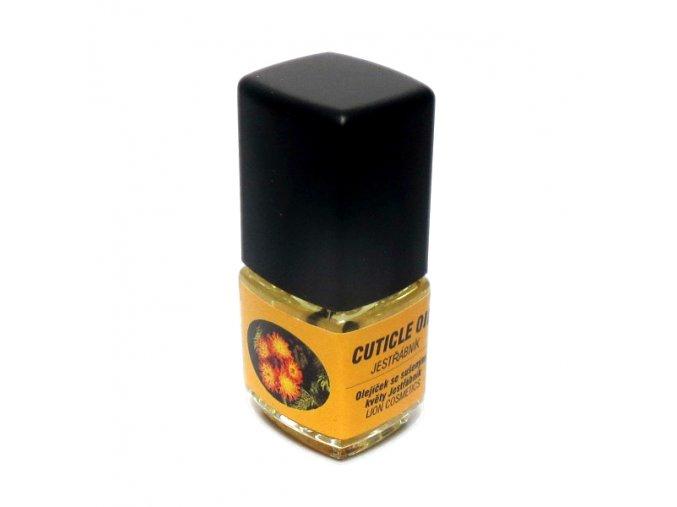 Olej na nehty se sušenými květy - JESTŘÁBNÍK (1+1 zdarma)