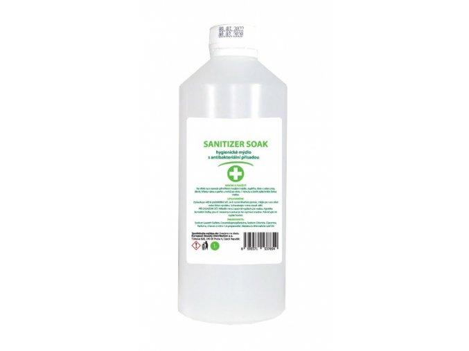 Sanitizer SOAP - hygienické mýdlo s antibakteriální přísadou 1L