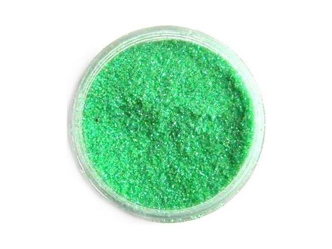 Třpytky na nehty, světle zelené 3g