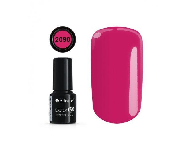 color it premium uv led gel lak c 2090 6 g black line