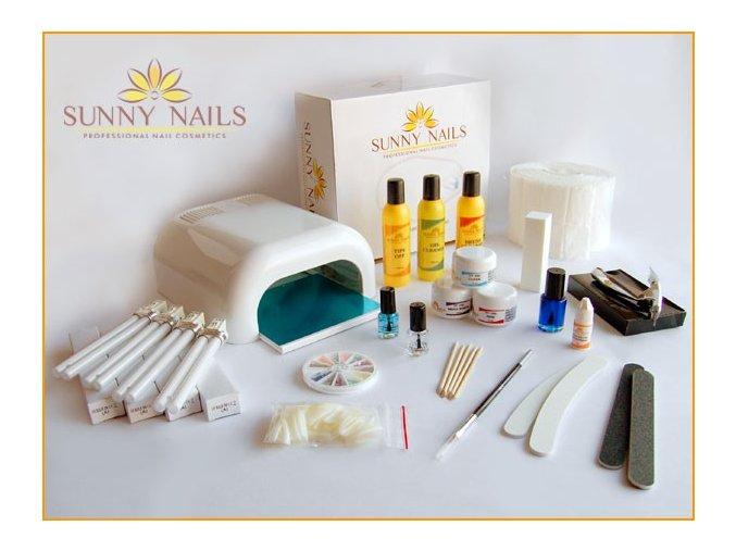 Sada na gelovou modeláž - Sunny nails 3