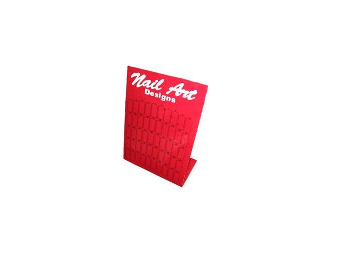 Vzorník na tipy - červený