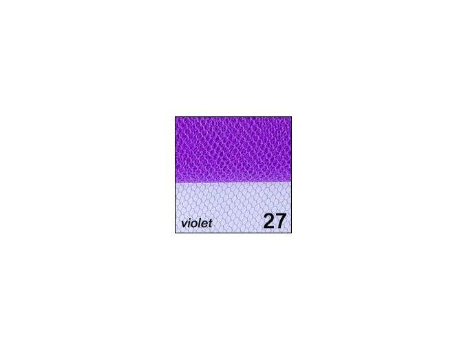 Síťka - zdobení nehtů, fialová