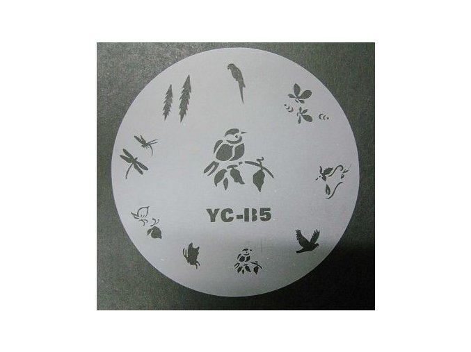 Šablony na nehty YC-B5