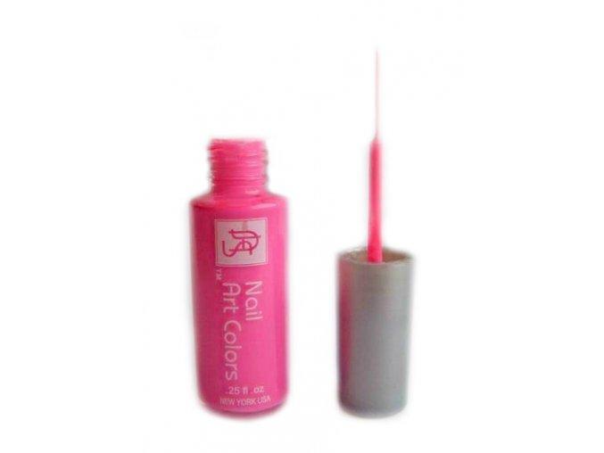 Art Colors zdobící lak, neon růžový