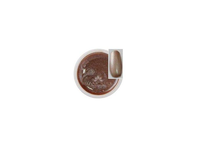 Metalický UV gel Sunny nails 5 ml, cappuccino