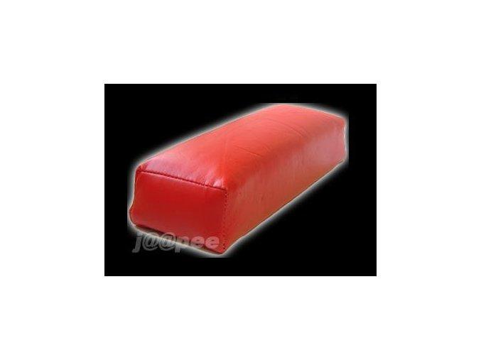 Podložka pod ruce k modeláži nehtů, červená