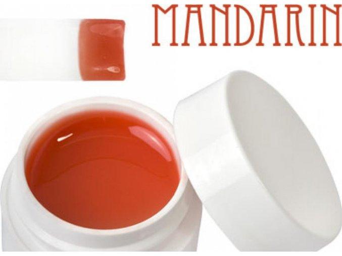Barevný UV gel 5 ml mandarinkový