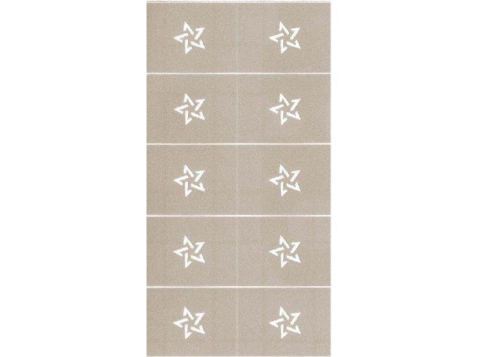 Zdobící šablona - pentagram