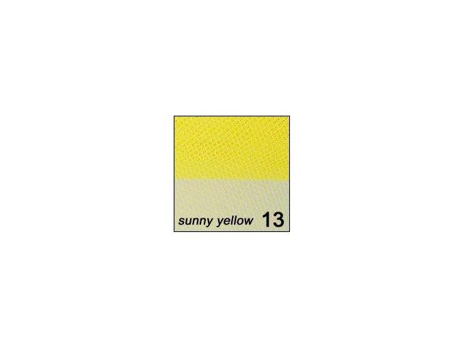 Síťka - zdobení nehtů, žlutá