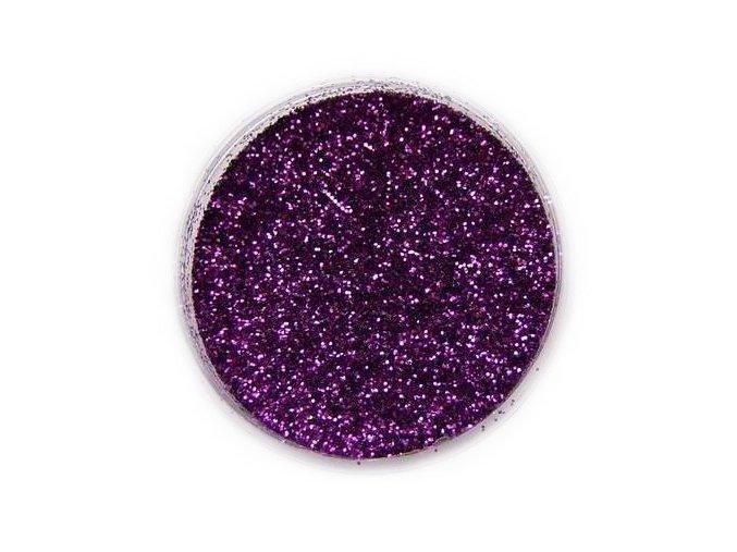 Třpytky tmavě fialové