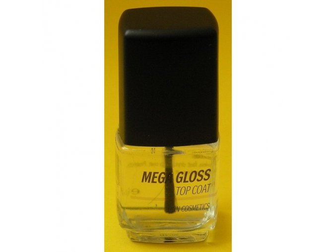 Mega gloss top coat