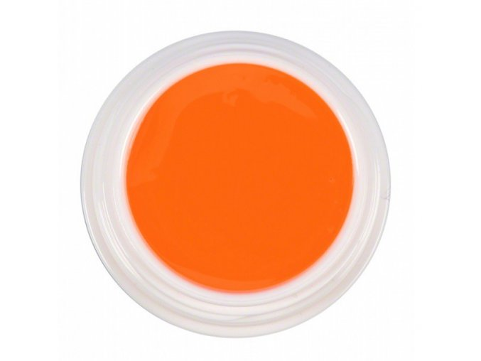 Barevný UV gel NEON - oranžový 5ml